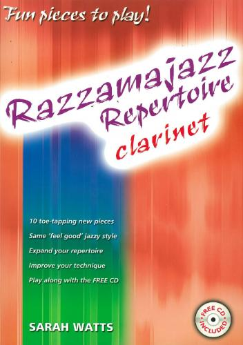 Watts: Razzamajazz Repertoire Clarinet & piano
