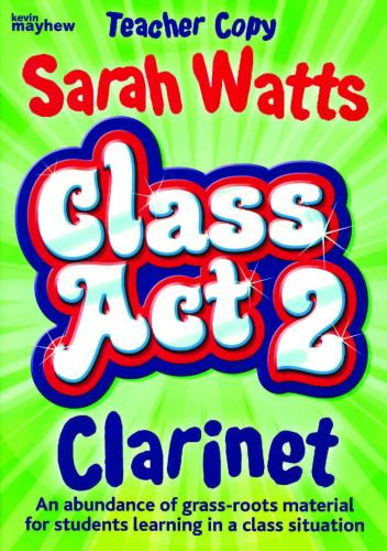 Class Act  2 Clarinet - Teachers Book