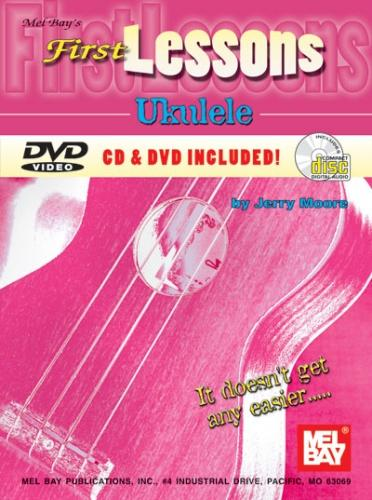 First Lessons Ukulele (Book, CD & DVD)