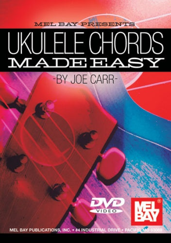Carr: Ukulele Chords Made Easy (DVD)