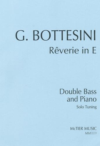 Giovanni Bottesini: Rêverie (Solo Tuning) (Double Bass & Piano)
