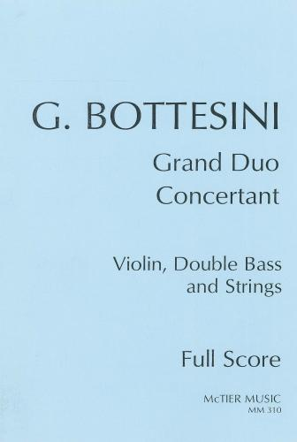 Grand Duo Concertant for Violin, Double Bass (Solo Tuning) and orchestra