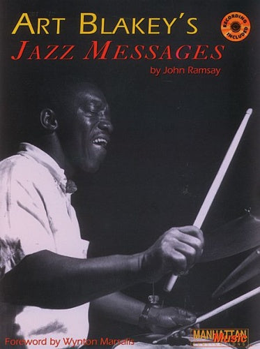 Art Blakey's Jazz Messages - Book & CD (Drums)