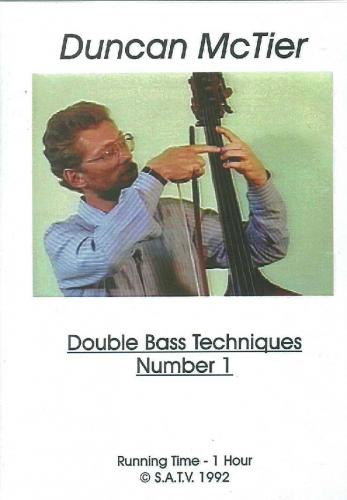 DVD: Double Bass Techniques Number 1