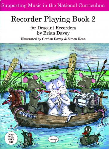 Brian Davey: Recorder Playing Book 2