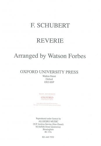 Schubert: Reverie - Forbes (Viola & Piano)