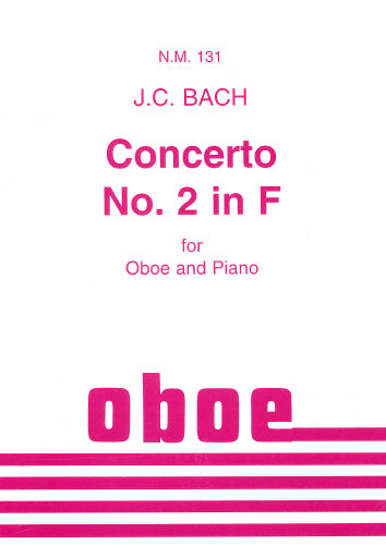 Concerto No. 2 in F (Oboe & Piano)