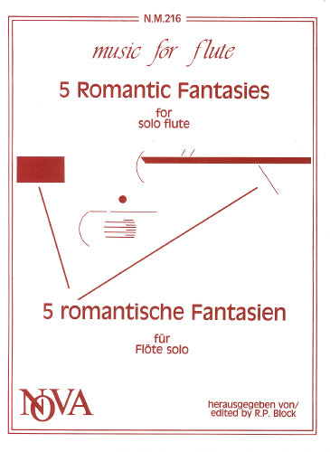 Five Romantic Fantasies for Flute Solo