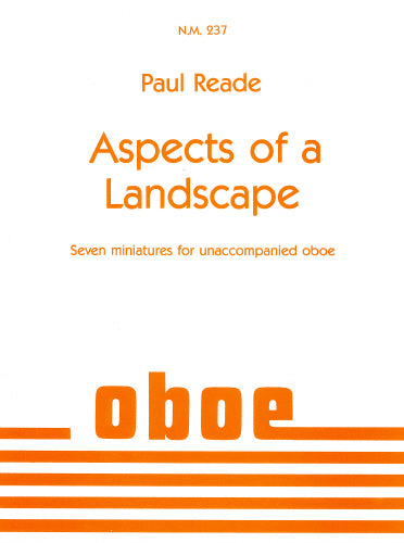 Paul Reade: Aspects of a Landscape (Oboe Solo)