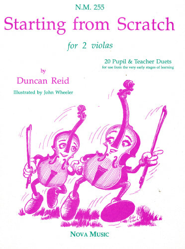 Starting from Scratch: Viola Duets by Duncan Reid