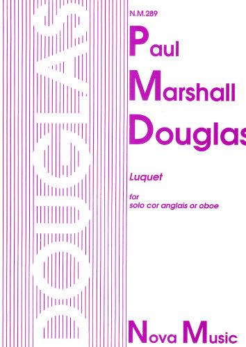 Paul M Douglas: Luquet for solo Cor Anglais