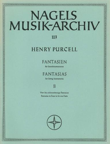 Henry Purcell: Fantasias, Vol. 2: No.8 - 15 Score only