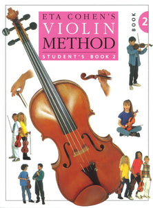 Eta Cohen Violin Method Book 2 - Student's Book