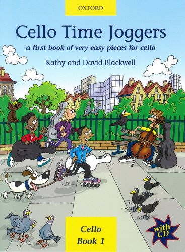 Cello Time Joggers (Book & CD) Pupils Book