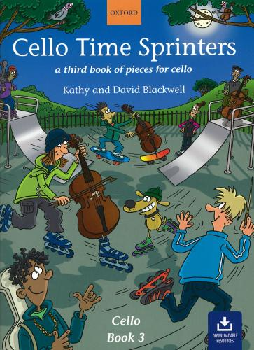 Cello Time Sprinters (Book & Audio Download) Pupils Book