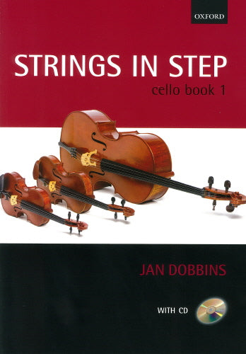 Strings in Step Cello Book 1 (Book and CD)