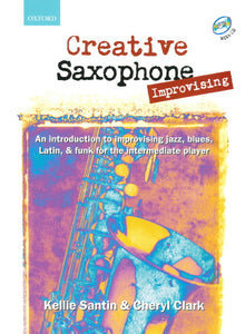 Creative Saxophone - Improvising (Book + CD)