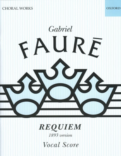Requiem (1893 version) - Vocal score