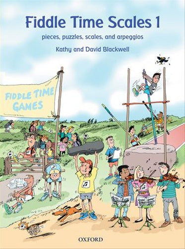 Fiddle Time Scales 1, Revised Edition (2012)