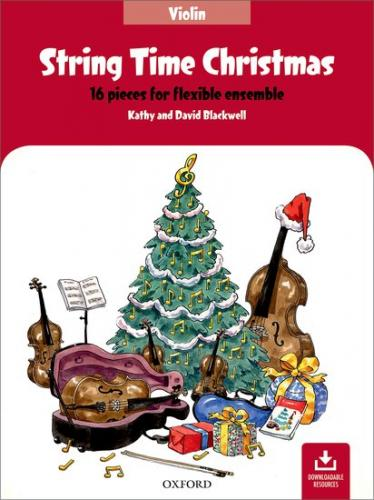 Blackwell:String Time Christmas-Violin Book-16 pieces-flexible ensemble