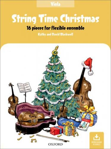 Blackwell:String Time Christmas-Viola Book-16 pieces-flexible ensemble