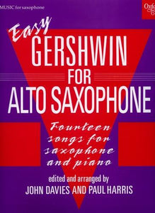 Easy Gershwin for Alto Saxophone (and Piano)