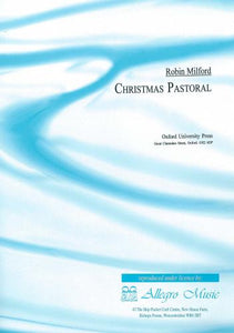 Milford: Christmas Pastoral for Treble Recorder & Piano (ARCHIVE copy)