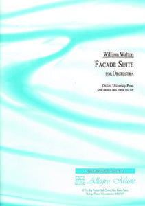 Sir William Walton: Façade Suite No. 1  (Score)