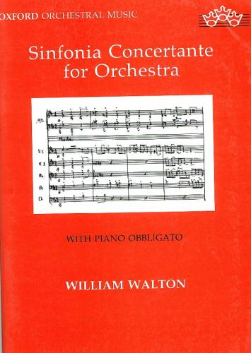 Sir William Walton: Sinfonia Concertante (revised version) - Study score