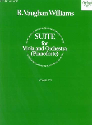 Suite for Viola and Orchestra (Viola & Piano reduction)