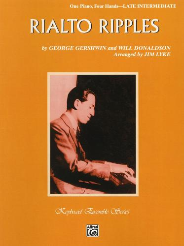George Gershwin: Rialto Ripples for Piano Duet
