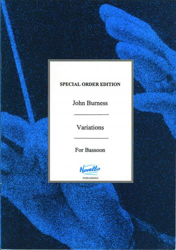 John Burness: Variations (Bassoon Solo)
