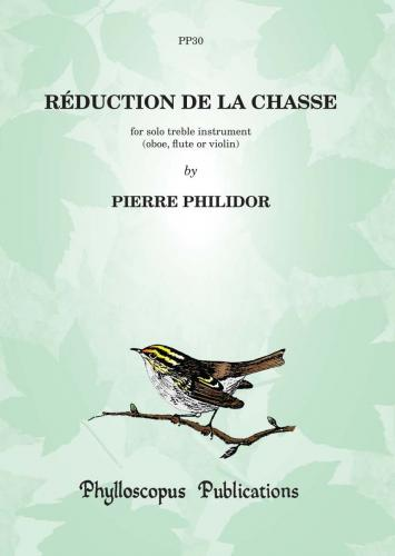 Pierre Philidor: Réduction de la Chasse  -  for solo treble instrument