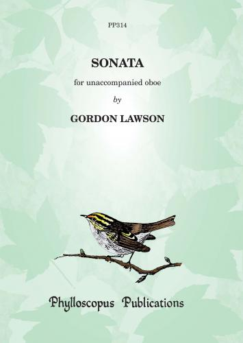 Gordon Lawson: Sonata for unaccompanied Oboe