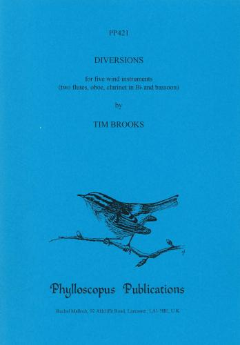 Tim Brooks: Diversions (Wind Ensemble)