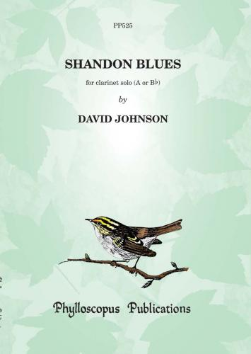 Dr David Johnson: Shandon Blues (Clarinet Solo)