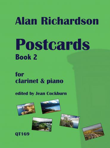 Postcards Book 2 for Clarinet & Piano
