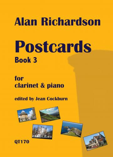 Postcards Book 3 for Clarinet & Piano