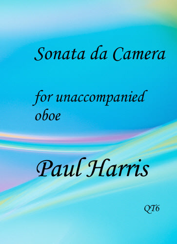 Paul Harris: Sonata da Camera (Oboe Solo)