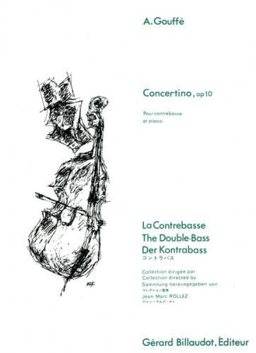 Concertino, Op.10 (Double Bass & Piano)