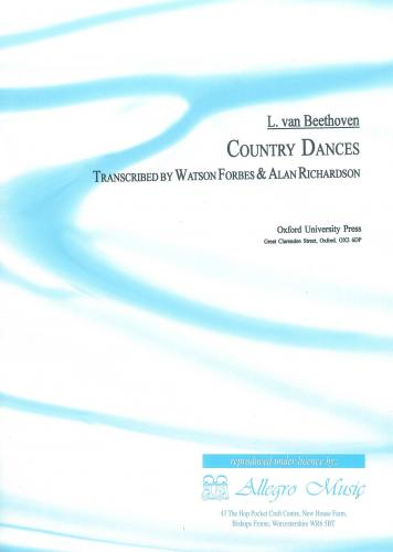 Ludwig van Beethoven: Country Dances (Viola and Piano), arr. Watson Forbes