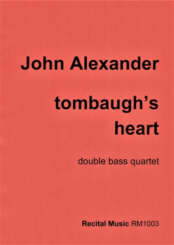 John  Alexander: tombaugh's heart (Double Bass Quartet)
