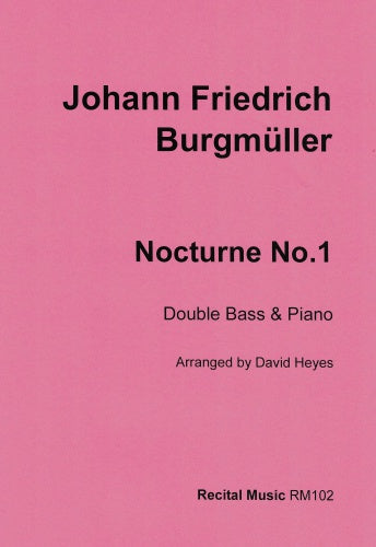 Nocturne No. 1 (Double Bass & Piano)