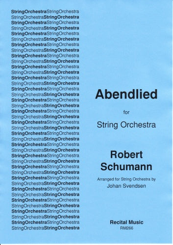 Robert Schumann: Abendlied Op.85, No.12