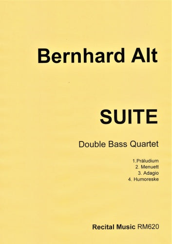 Bernhard Alt: Suite (Double Bass Quartet)