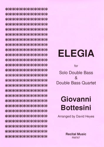 Giovanni Bottesini: Elegia  (Double Bass Quintet)