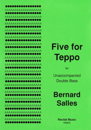 Bernard Salles: Five for Teppo (Double Bass Solo)