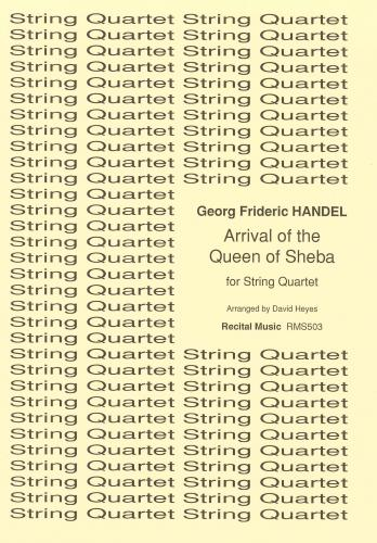 Arrival of the Queen of Sheba (String Quartet)