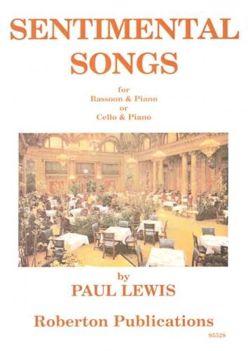 Lewis: Sentimental Songs  (for Bassoon or Cello with piano)
