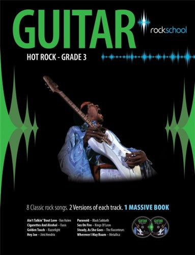 Rockschool: Hot Rock Guitar - Grade 3
